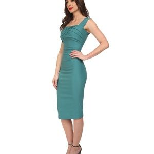 Stop Staring Jayla Wiggle Pencil Dress Rockabilly